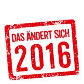 Roter Stempel - Das ändert sich 2016