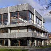 Außenansicht auf das Bundesverfassungsgericht in Karlsruhe