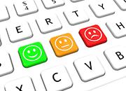 Smileys in verschiedenen Stimmungen
