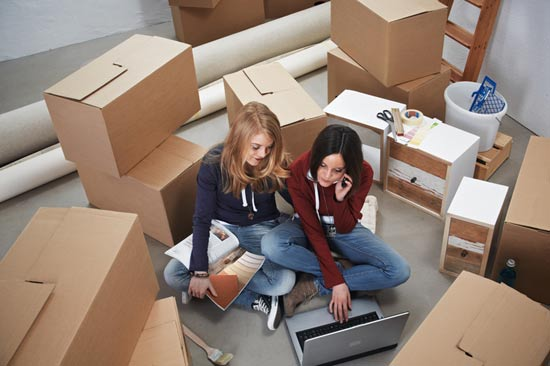 umzugs checkliste f r studenten studis online. Black Bedroom Furniture Sets. Home Design Ideas