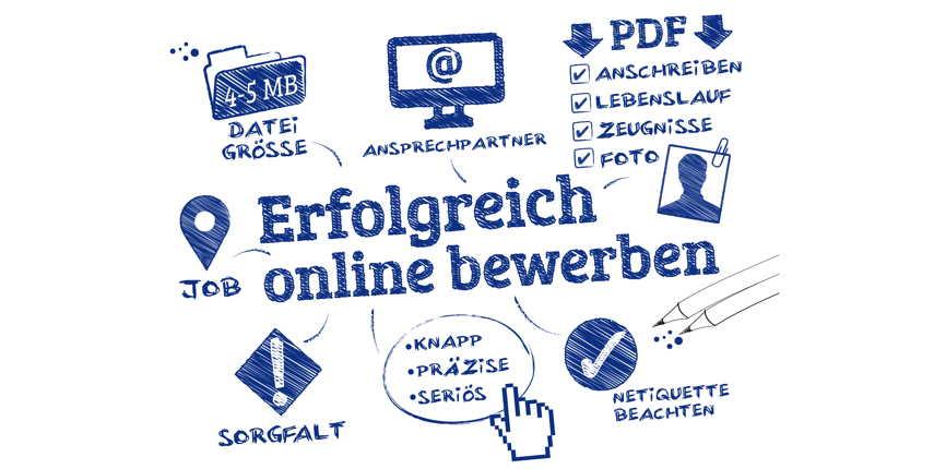 Online Bewerbung Per E Mail Oder Webformular Studis Online