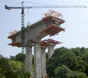 Ein Fachgebiet des konstruktiven Ingenieurbaus ist der Brückenbau.