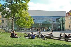 Audimax am Universitätsplatz