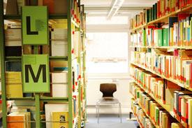 Bibliothek der Hochschule