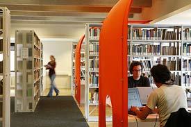 Bibliothek, Campus Bergheim