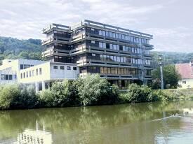 Blick auf den Standort Künzelsau.