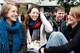 Stiftung Universität Hildesheim, Studierende am Hauptcampus