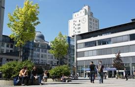 Campus der Uni Jena