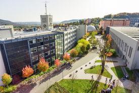 Der Campus der EAH Jena