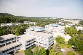 Campus der TU Kaiserslautern
