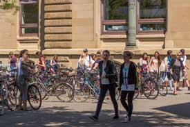 Der Campus der PH Karlsruhe
