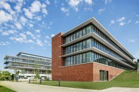 Außenansicht Technikgebäude