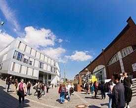 Campus der Uni Kassel