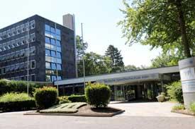 Haupteingang der Deutschen Sporthochschule Köln