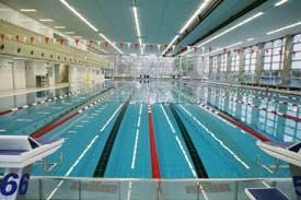 Schwimmzentrum der DSHS