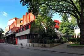 Straßenansicht Hochschule