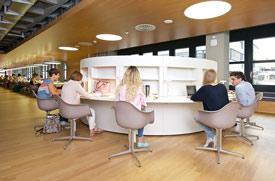 Bibliothek der Uni Konstanz