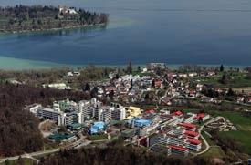Luftbild der Uni Konstanz