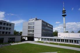 Blick über den Campus der HWG LU