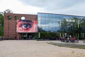 Die Mensa der Uni Lübeck