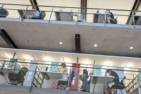 Bibliothek der Uni Mannheim