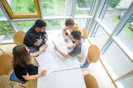 Studierende der Uni Mannheim Fakultät VWL