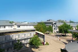 Campus der Hochschule Mannheim