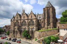 Alte Uni der Philipps Universität Marburg