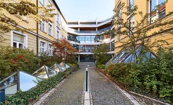 Der Campus der HFPH München