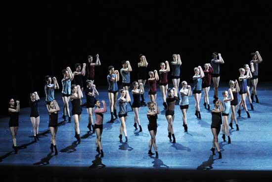 Das Ballett der Hochschule für Musik und Theater München
