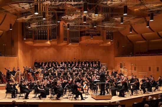 Das Hochschulorchester der Hochschule für Musik und Theater München