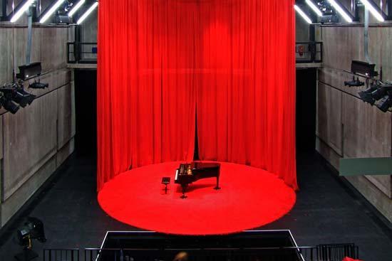 """Die """"Reaktorhalle"""" der Hochschule für Musik und Theater München"""