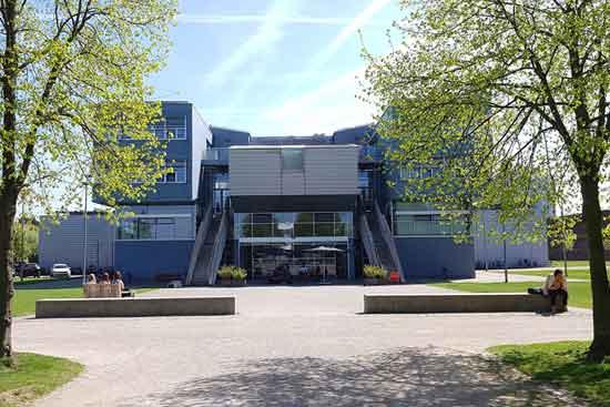 Der Campus der Kunstakademie Münster