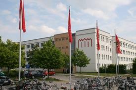 Das Hauptgebäude der Hochschule Neubrandenburg