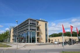 Das Laborgebäude der Hochschule Neubrandenburg