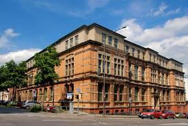 Gebäude Boxgraben, Fachbereich Design, Labore des Fachbereichs Luft- und Raumfahrttechnik an der FH Aachen.