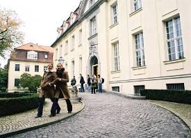Der Campus der Hochschule in Berlin.
