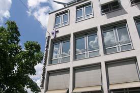 Das Hauptgebäude der EVHN