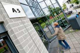 Campus Haarentor, Eingang (Carl von Ossietzky Universität Oldenburg)