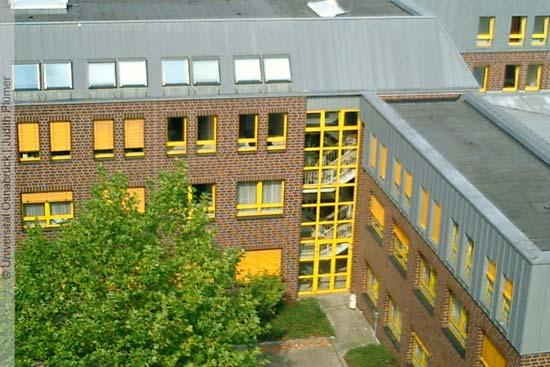 Campus der Uni Osnabrück
