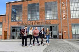 Campus Lingen der Hochschule Osnabrück am Standort Lingen