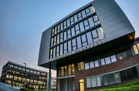 Haupteingang der Uni Paderborn