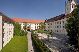 Ausblick aus dem Nikolaikloster