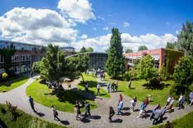 Der Campus Elmshorn der Nordakademie