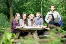 Studierende der Nordakademie