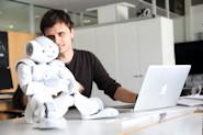Künstliche Intelligenz mit dem NAO-Roboter an der HdM Stuttgart