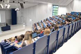 Das Audimax der Universität Trier