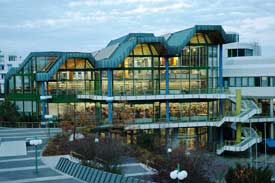 Die Bibliothek der Universität Trier