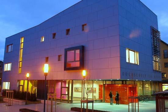 Der Neubau der Hochschule für Musik Trossingen