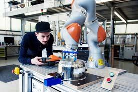 Industrierobotik an der Technischen Hochschule Ulm